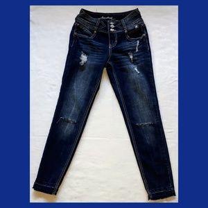 🍁FINAL PRICE🍁Amethyst Distressed Skinny Jeans